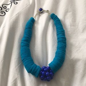 Handmade Italian turquoise necklace